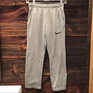Nike Sweatpant Dri Fit Athletic Workout Grey Med